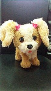 Cachorro de Pelúcia eletrônico PETS FURREAL FRIEND