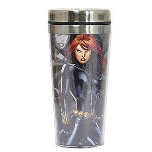 Copo Térmico Viúva Negra - Marvel