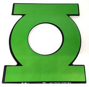 Descanso / Suporte para Panela Cerâmica Logo Lanterna Verde
