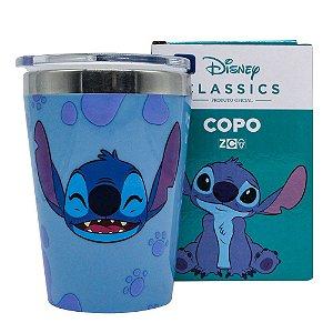 Copo Viagem Snap 300ml Disney - Stitch
