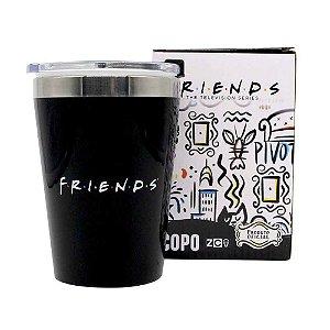 Copo Viagem Snap 300ml Friends - Logo