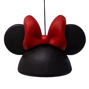 Luminária Decorativa Bivolt Pendente Disney Minnie Lacinho