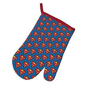 Luva Térmica de Cozinha Superman Logos - Licenciado