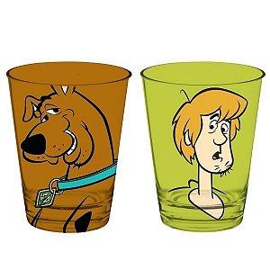 Conjunto 2 Copos Vidro Scooby Doo 300ml