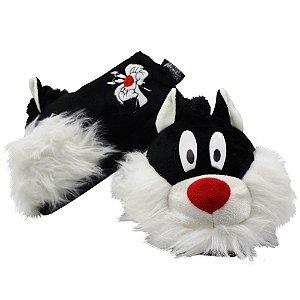 Pantufa 3D Unissex Gato Frajola - Looney Tunes