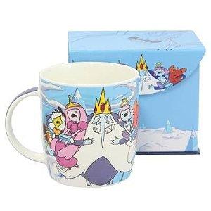 Caneca Porcelana Princesas do Rei Gelado - Hora de Aventura