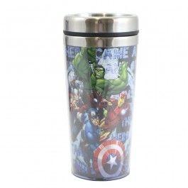 Copo Térmico 450ml Vingadores - Marvel