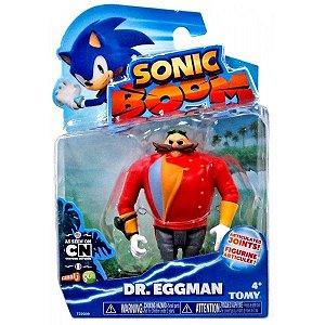 Boneco Articulado Sonic Boom - Dr. Eggman