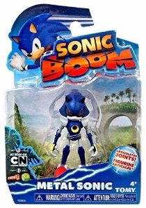 Boneco Articulado Sonic Boom - Metal Sonic