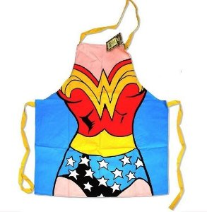 Avental Mulher Maravilha Uniforme Wonder Woman - DC Comics