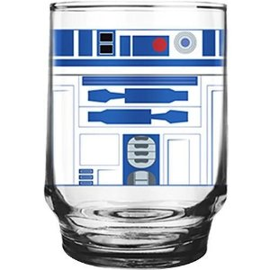 Copo Vidro 260ml R2D2  - Star Wars Kids