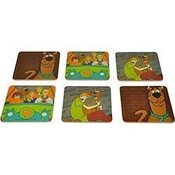 Conjunto 6 Porta Copos MDF Scooby Doo