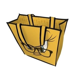 Sacola Plástica Ecobag Piu Piu - Looney Tunes