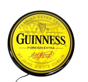 Luminoso de Parede Guiness Beer 40cm