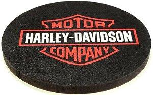 Conjunto 2 Porta Copos Madeira Harley Davidson