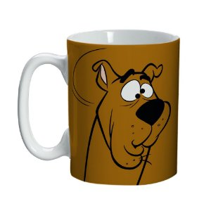 Caneca Porcelana Mini Scooby Doo - Hanna Barbera