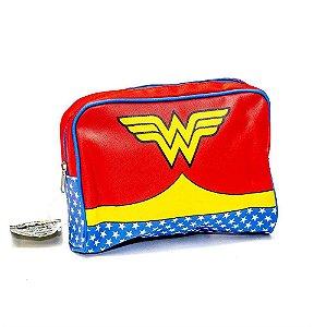 Necessaire / Bolsa de Viagem Uniforme Mulher Maravilha - DC Comics