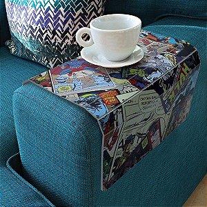 Bandeja para sofá quadrinho