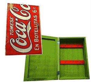 Porta Chaves Coca Cola - Tomese En Botellitas