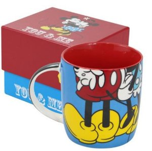 Caneca Porcelana You & Me - Minnie e Mickey