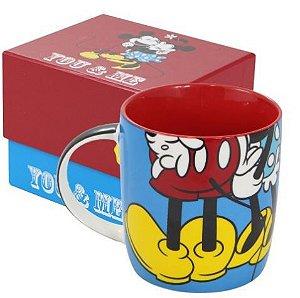 Caneca de Porcelana Minnie e Mickey - Oficial