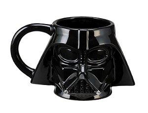 Caneca Porcelana 3D - Capacete Darth Vader