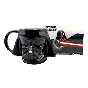 Caneca Porcelana 3D Darth Vader - Star Wars