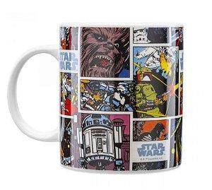 Caneca Porcelana Gibi - Star Wars Comics - Licenciado