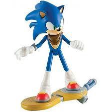Boneco Articulado Sonic Boom com Skates - Tomy Oficial