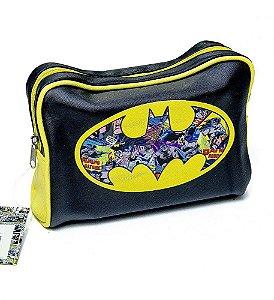 Necessaire / Bolsa de Viagem Batman Logo Cores - DC Comics