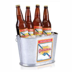 Balde 7Lts Cerveja Antarctica Original Oblongo