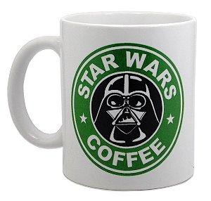 Caneca Porcelana Darth Vader Estilo Starbucks