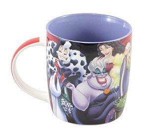 Caneca Porcelana Vilões Disney - Licenciada