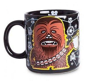 Caneca de Porcelana Star Wars - Chewbacca