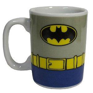 Caneca Porcelana Mini Batman Uniforme - DC Comics