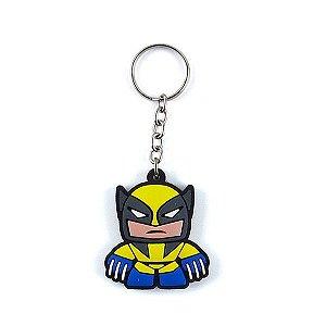 Chaveiro Emborrachado Cute Wolverine
