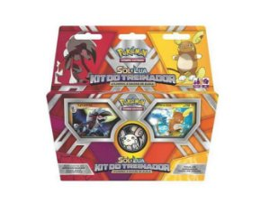 Pokemon TCG Kit treinador Lycanroc e Raichu