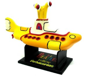 Yellow Submarine - the Beatles - Miniatura em Resina