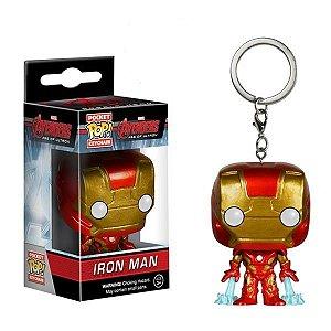Pocket POP! Funko Chaveiro Homem de Ferro - Marvel