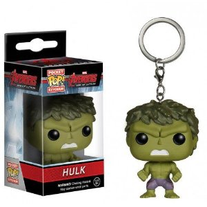 Pocket POP! Funko Chaveiro Hulk - Marvel