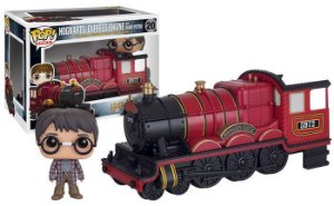 POP Rides! Harry Potter: Trem Hogwarts Express com Harry Potter #20 - Funko