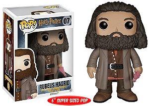 "Super Size POP! Harry Potter: Rubeus Hagrid 6"" Polegadas #07 - Funko"