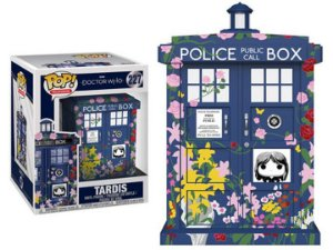 Super Size Pop! Television - Doctor Who: Máquina Tardis  (Clara Memorial) #227  Funko