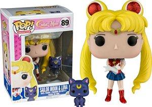 Pop! Animations: Sailor Moon & Luna #89 | Funko