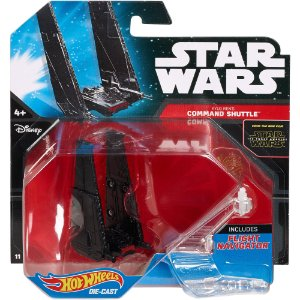 Kylo Ren's Comand Shuttle Star Wars Naves Hot Wheels