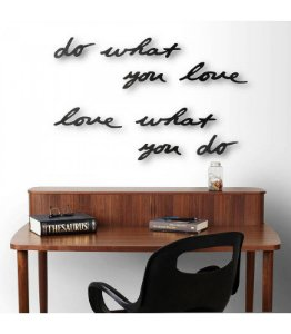 Display Decorativo de Parede Mantra Umbra - Do What You Love