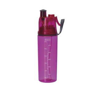 Squeeze com Borrifador Spray 600ml - Rosa