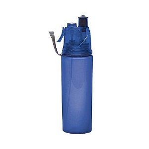 Squeeze com Borrifador Spray 600ml - Azul