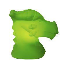 Luminaria / Abajur Bivolt Dragão - Verde