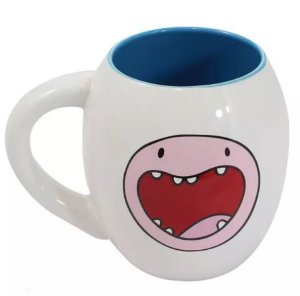 Caneca Oval 530ml Finn - Hora de Aventura - Cartoon Network